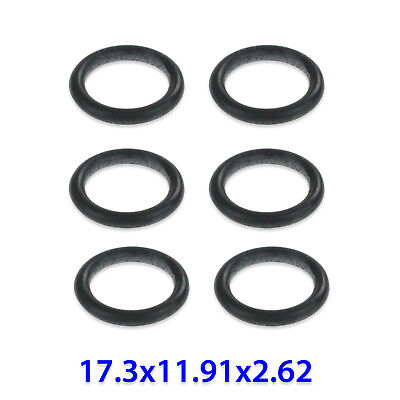PACK OF 6 x SMALL RUBBER GASKETS FOR DISHWASHER GLASSWASHER 17.3x11.91x2.62mm