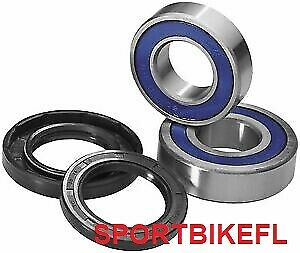 All Balls Racing Front Bearings And Seals Kit 25-1380 For Honda