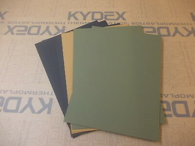 7 Pack 1.5 mm A4 Kydex T Feuille 297 X 210 3 Noir 2 Coyote 2