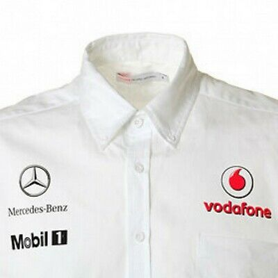 SHIRT Formula One 1 Vodafone McLaren Mercedes F1 Team NEW! Management 2012 S