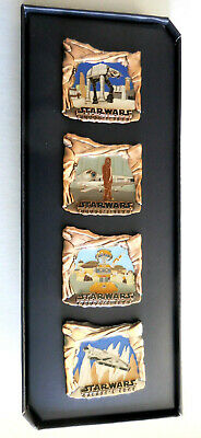 Disneyland Collector Pin Star Wars Galaxys Edge Set of 4 LE 500