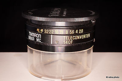 Tamron SP 1.4X teleconverter model 140F Adaptall-2, TESTED, excellent
