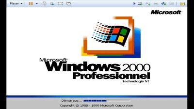 Microsoft Windows 2000 Professionnel Install Disc + Key/Cle **FRENCH/FRANCAIS**