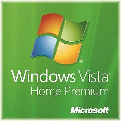 Microsoft Windows Vista Home Premium 64Bit OEM Install Disc + Key