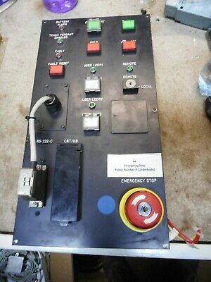FANUC -- OPERATOR PANEL w/switches  S-10 Robot R-J Controller --  A05B-2301-C002