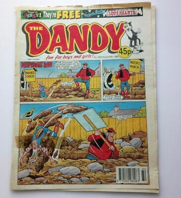 The Dandy 8th August 1998 Collectable Childrens Comic Magazine Number 2959 *