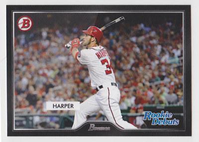 BRYCE HARPER 2019 Topps On Demand Set #7 '55 Bowman Rookie Debuts SP /217