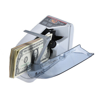 Mini Handy Bill Cash Banknote Counter Money Currency Counting Machine AC or I2X5