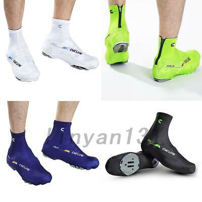Cycling Shoe Covers Warm No-slip Bicycle Shoe Protector Overshoes Outdoor M-XL