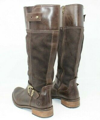 Timberland Tall Brown Earthkeepers Riding Bethel 8m Boot Women's 4L5AjR