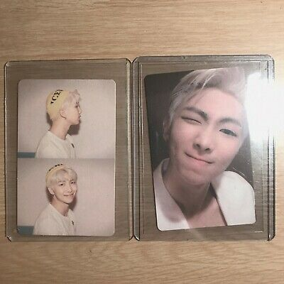 RM Official Photocard BTS Map Of The Soul Persona VERSION 1 2