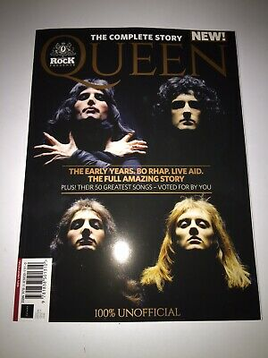 Classic Rock Presents: QUEEN  - THE COMPLETE STORY - Bo Rhap / Live Aid ++++