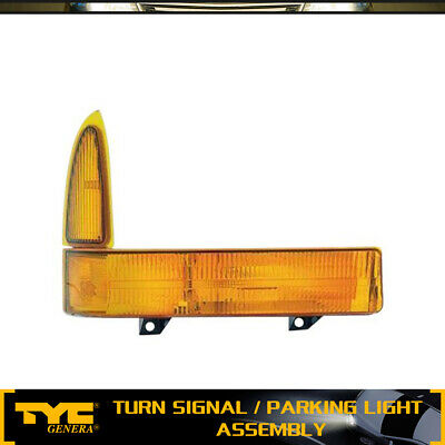 Front Right Bumper Turn Signal Light Lamp Pass TYC for Mercedes E300 E320 W210