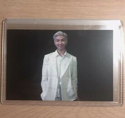 Rm Official Photocard BTS Persona Broadcast Photocard Prerecord Boy With Luv