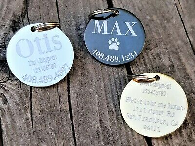 Dog Tags Personalized Dog Tags Engraved Pet ID Tags Dog tag Engraved MADE IN USA