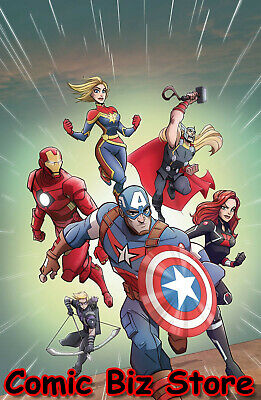 Marvel Action Avengers #5 (2019) 1St Print Scarce 1:10 Variant Cover Marvel/Idw
