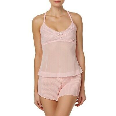 Passion Forever Women's Camisole & Tap Pants Pink
