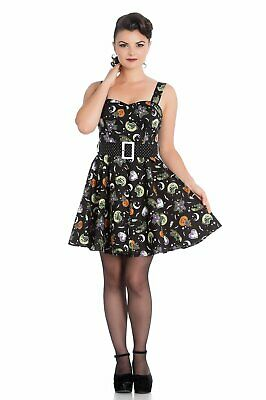 b018be8d5786 HELL BUNNY VIXEN Zombie Pin Up Girl Rockabilly Swing Dress 1950s ...