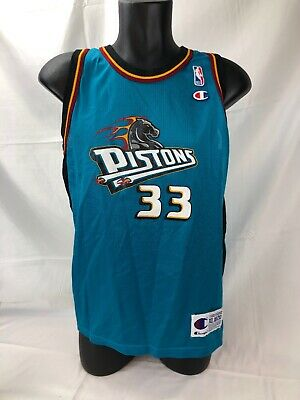 692d2810d9a Champion Detroit Pistons #33 Grant Hill Jersey Youth Size XL (18-20)