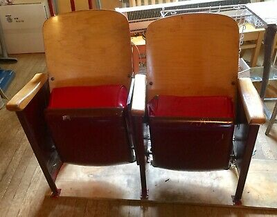 Vintage Theater Seats Seating Retro Movie Seats