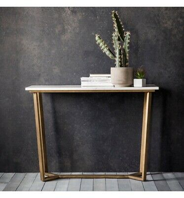 Frank Hudson Gallery Direct Cleo Marble Console Table