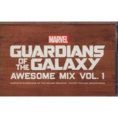GUARDIANS OF THE GALAXY Awesome Mix Vol 1 CASSETTE 12 Track Marvel's Guardians