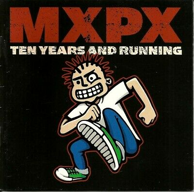 MXPX - Ten Years And Running CD 2002 Punk Rock Skate Pop Christian Tooth & Nail