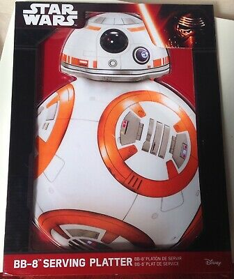 Star Wars BB-8 Serving Platter Tray Large Party Dish Plate Dining Kitchen  NEW