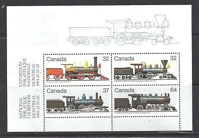 CANADA COLOR VARIETY LOCOMOTIVE #2 SS SCOTT 1039a VF MINT NH(BS12197-1)