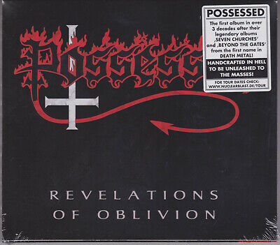 POSSESSED 2019 CD - Revelations Of Oblivion - Death/Slayer/Gruesome/Obituary NEW