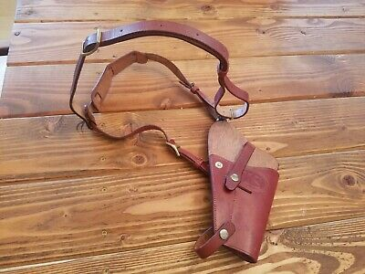 """US WW2 M3 Colt 1911 .45 """"Tanker"""" Shoulder Holster repro with chest strap!"""