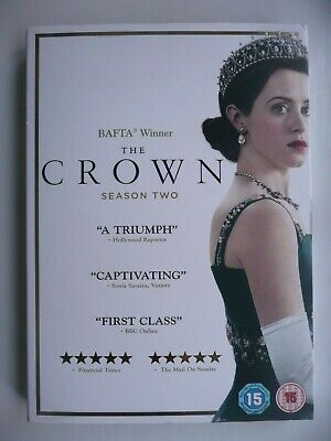 The Crown - Season Two (DVD, 2018, 4-disc Set) with slip cover