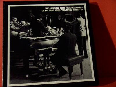 """Mel Lewis """" Solid State Recordings Of Thad Jones """"(Mosaic 7-Lp-Box/New=Unplayed)"""