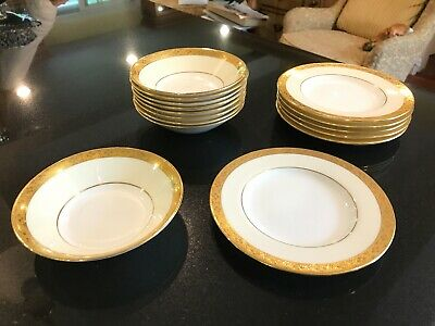 Minton Tiffany & Co - Bread and Butter Plates & Fruit Bowls