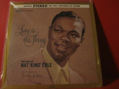 """Dcc Lpz-2029 Nat King Cole """"Love Is The Thing"""" (Pure Analogue Lp/Factory Sealed)"""