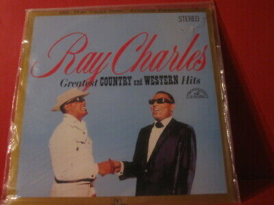 """Dcc Lpz 2012 Ray Charles """" Country And Western Hits """" (Pure Analogue Lp/Sealed)"""