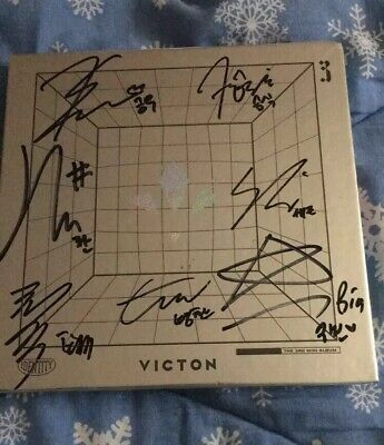Victon The 3rd Mini Album Signed By All Members