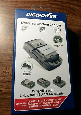 Black DigiPower TC-U450 Univeral Camera Battery Charger