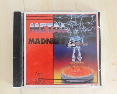 Metal Madness Vol 2 CD Canada Import Exodus King Kobra Megadeth Heavy Metal