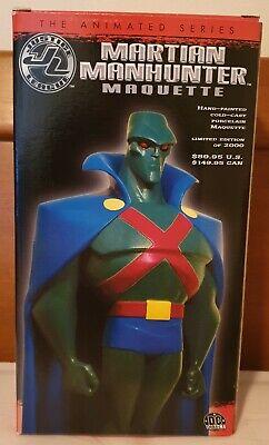 Justice League The Animated Series Martian Man Hunter Maquette 0272/2000 Limited