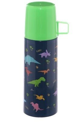 Thermosflasche Dinosaurier 350ml Dino Thermoskanne Warmhaltekanne Isolierflasche