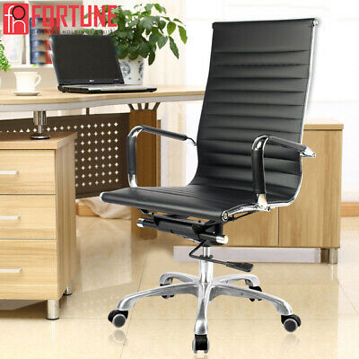 Office Gaming Chair Racing Ergonomic Leather HighBack Computer Desk Swivel Chair