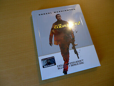 The Equalizer 2 Filmarena Exclusive Limited Collector's Steelbook [Blu-ray] NEU