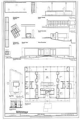 flexible plan stylish Mid-century Modern home design architectural plans