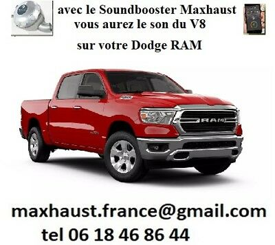 * SoundBooster Active Sound Kufatec Maxhaust France Dodge Jeep GMC Lincoln