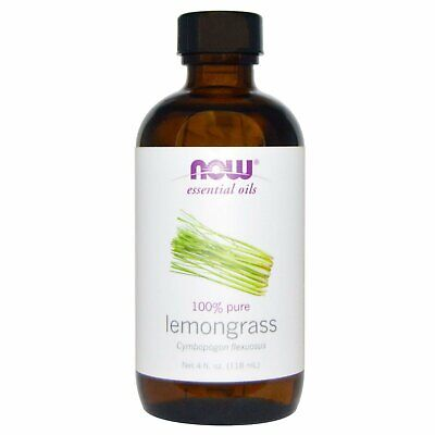 Now Foods  Essential Oils  Lemongrass  4 fl oz  118 ml