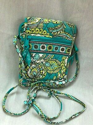 Vera Bradley Mini Hipster Peacock Retired Good Condition
