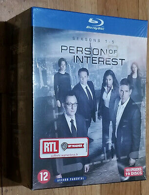 Person of Interest Complete Series Seasons 1/2/3/4/5 Blu-ray Box Set NEW SEALED
