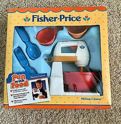 Fisher Price Fun with Food Mixing Center Mixer Stand replacement part Base only