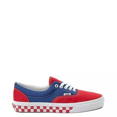 NEW Vans Era BMX Chex skate shoe lace up classic old skool unisex blue red white